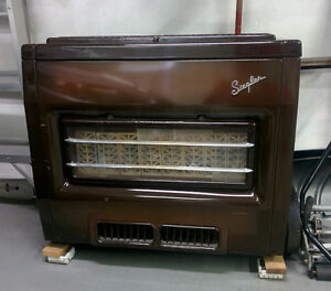 50's Siegler natural gas space heater