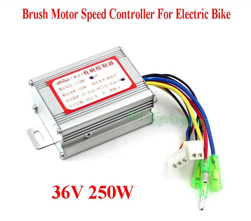 36 V 250 W Brosse vitesse moteur contrôleur pour vélo électrique e-bike bicycle scooter S