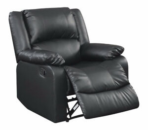 "Relax-a-Lounger  ""Warren""  Recliner - Black- NEW IN BOX"