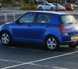 Suzuki swift 2006 1.5 petrol + towbar