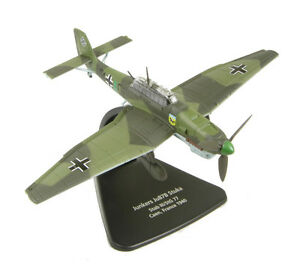 AC004-Oxford-Diecast-MODELZONE-1-72-Junkers-ju-87-Caja-Stuka-Modelo-Nuevo-Avion