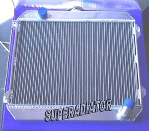 3 ROW 1975-1979 fit for Nissan Stanza Datsun 620 Aluminum Radiator MT New 2.0L