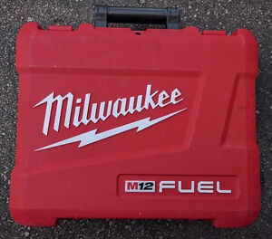 Milwaukee M12 Fuel Drill Case (Case Only)