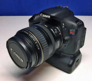 Canon Rebel T3i with extras