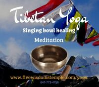 Tibetan Yoga, Meditation & Healing Singing Bowls