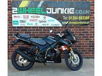 Lexmoto XTRS 125cc Sports Tourer Black LEARNER MOTORBIKE MOTORCYCLE UK DEALER