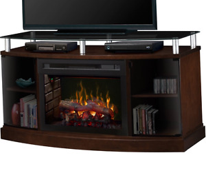 Dimplex Windham Electric Fireplace media stand