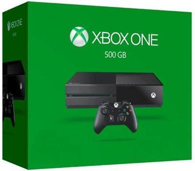 New Microsoft Xbox One 500GB Black Console+OEM accessories+Lego Movie Video Game