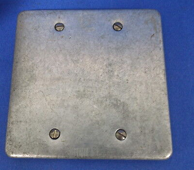 """EGS ELECTRICAL GROUP 4"""" SQUARE COVER BOX OF 5"""
