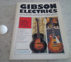 Gibson Electrics, Andre Duchossoir, 1981 Kitchener / Waterloo Kitchener Area image 1