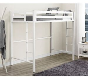 """""""Salina"""" Metal Loft Bed - in excellent condition - NEW PRICE"""