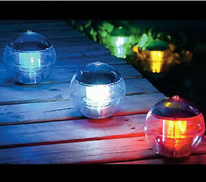 solar waterproof floating ball color changing pool water. Black Bedroom Furniture Sets. Home Design Ideas