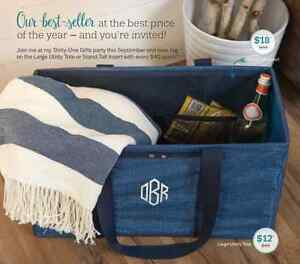 Time is running out -  Thirty-One Large Utility Tote on sale!