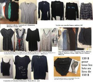 Lot vêtement maternité Medium (quelques large)