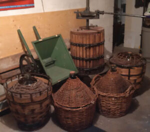 Wine making equipment at a great deal
