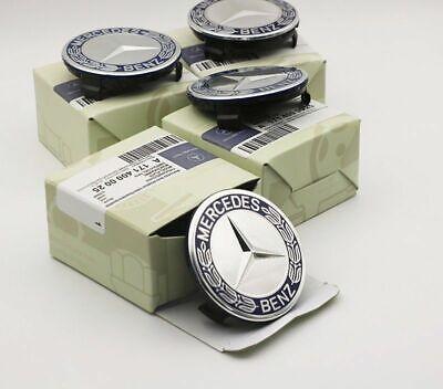 4Pcs Wheel Emblem Hub Center Caps Badge Logo 75mm For Mercedes Benz 1714000025