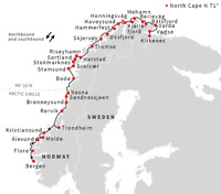 16-Day unique Norway Hurtigruten Cruise with Air from Saint John