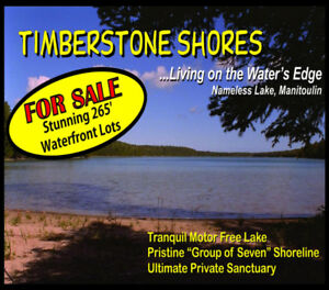 Private Waterfront Property - Nameless Lake, Manitoulin