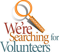 Volunteers needed! (Once a month commitment minimum)