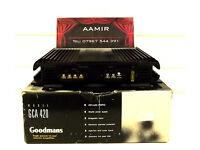 Goodmans Power Amplifier Car Amp (Retro ICE, Kenwood, Pioneer)