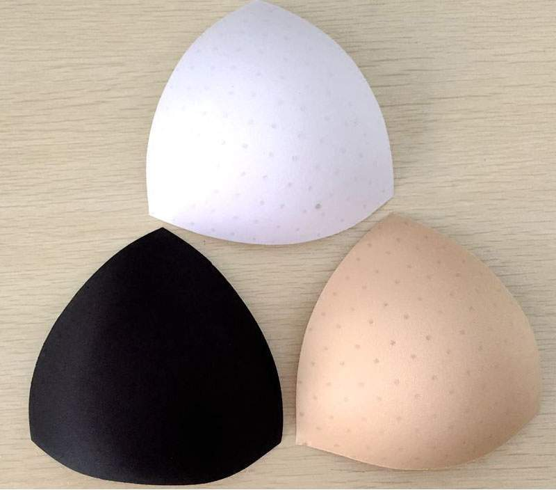 BH Bikini Einlagen Dreieck Luft ca 13,5 x 14 cm Push Up Sexy Kissen Badeanzug