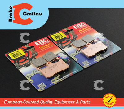 2013 - 2017 VICTORY CROSS COUNTRY TOURING - FRONT EBC HH BRAKE PADS - 2 PAIR
