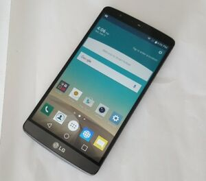 Unlocked LG G3 32GB Black D852 New 10/10 Condition $125