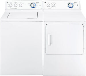 GE Washer and Dryer / Laveuse et Sècheuse GE