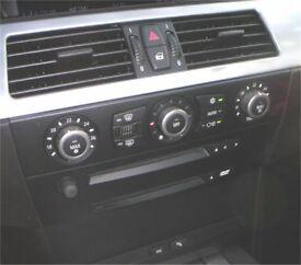 BMW 5 SERIES E60, E61 AC HIGH HEATER CONTROL PANEL UPGRADE RARE M5