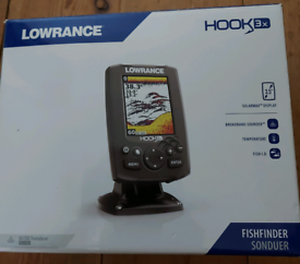 NEW FISHFINDER IN THE BOX.
