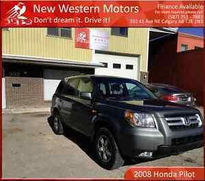 2008 Honda Pilot EX 4WD/DVD/Sunroof/One Owner