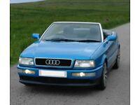 Audi 80 2.0E 1996 Cabriolet Kingfisher Blue