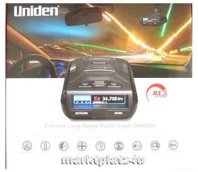 UNIDEN R3 EXTREME MRCD GPS RADAR LASER DETECTOR INTERNATIONAL SHIP EU US CA RU