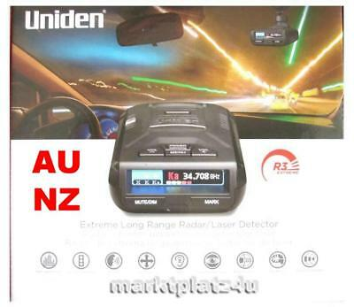 2019 UNIDEN R3 EXTREME MRCD GPS RADAR LASER DETECTOR AU AUSTRALIA NZ NEW ZEALAND for sale  Shipping to India
