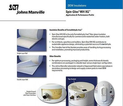 Johns Manville Appliance Thermal Insulation Heaters Oven 1000F (24