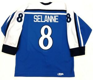 TEEMU-SELANNE-AUTHENTIC-FINLAND-OLYMPIC-JERSEY-ANAHEIM-DUCKS