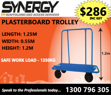 Sky Equipment Plasterboard Trolley SWL 1350kgs