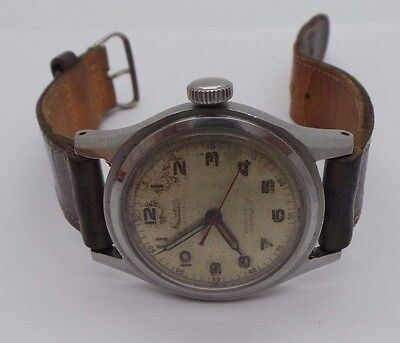 Vintage Authentic Mens Minerva Hand Winding Watch 8  Long Ai 586