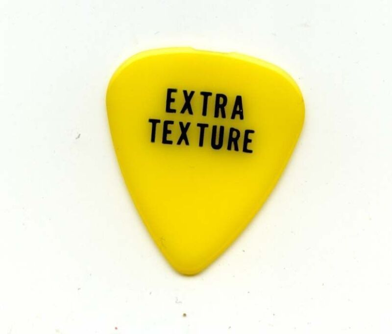 1975 Beatles George Harrison Extra Texture Promotional Guitar Pick