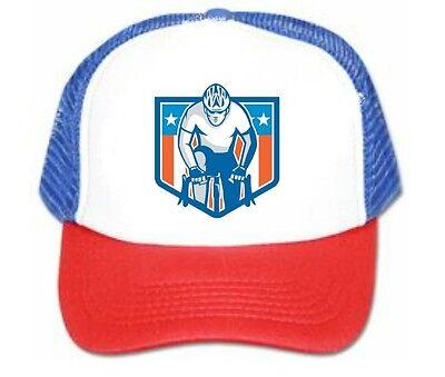 NEW Road bike Trucker Hat mesh hat snapback hat rwb
