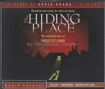 NEW Sealed THE HIDING PLACE Focus on the Family Radio Theater 3-CD Audio Set