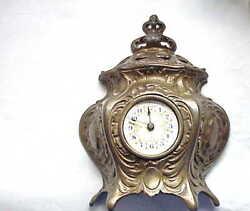 Antique Brass Alarm Clock