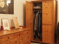 Extensive and good quality double bedroom furniture set for sale