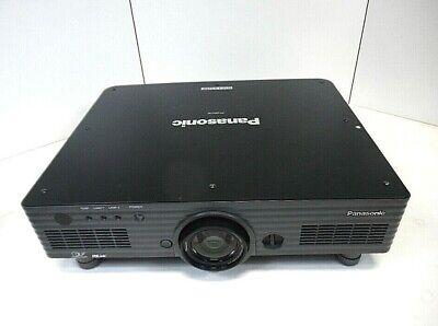 Panasonic DLP Projector PT-DW5100U WXGA 5500 Dual Lamp VGA-DVI Good Condition
