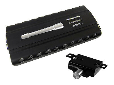 New AUDIOPIPE AP-2004 2000 WATT 4 Channel Car Amplifier Power Amp+Remote AP2004 on Rummage