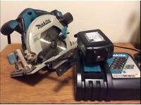 Brushless Circular Saw with 5Ah Battery & Charger - New