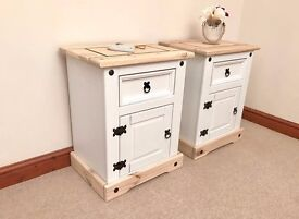 Country Chic Pine Bedside Tables ***£139***