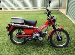 CT110 Postie Bike 2011 model Richmond Hill Charters Towers Area Preview