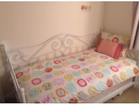 Brand new single/day bed with trundle and 2 matresses for sale