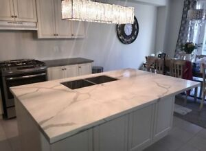 Custom Granite & Quartz Kitchen/Bathroom Countertops